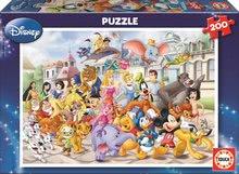 Dětské puzzle od 100–300 dílků - Puzzle Disney Průvod Educa 200 dílů od 6 let_0