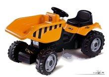 Staré položky - SMOBY 33383 Traktor Dumper s prilbou a s