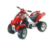 SMOBY 33020 Négykerekű X Power pedálos elektromos piros 5km/o, 95,5*50*63 cm