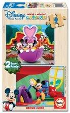 13467 b educa drevene puzzle mickey mouse