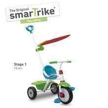 Tricikel Fun Plus smarTrike 2v1 modro-zelen od 15 mes