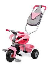Smoby 444158 TRICIKEL Be Fun Confort rožnata s vodiacou tyčou 95*50*89 cm od 10 mes