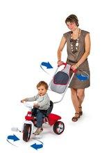 Stari vnosi - Smoby 434111 TRICIKEL Baby Driver červená, vodiaca tyč ovláda predné koleso, 70*50*52 cm od 12 mes_1