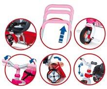 Produse vechi - Tricicletă roz Baby Driver Rose Smoby roz de la 12 luni_0
