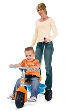 Triciclete de la 15 luni - Tricicletă Be Fun Smoby portocalie albastră de la 15 luni_0