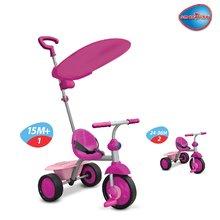 Tricikel Fun Plus smarTrike ultralahek rožnat od 15 mes