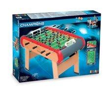 Stolný futbal - Drevený futbalový stôl Champions Smoby od 8 rokov_0