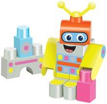 Detská stavebnica Robot Maxi Abrick Écoiffier s IML potlačou od 12 mesiacov
