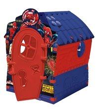 Detský domček Spiderman Dream House PalPlay od 24 mesiacov modro-červený
