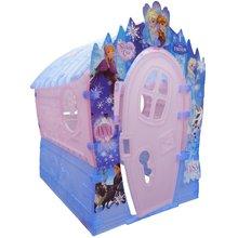Detský domček Frozen Dream House Marianplast od 24 mesiacov ružovo-modrý