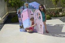 Domčeky pre deti - Domček Frozen Dream House PalPlay ružovo-modrý od 24 mes_3