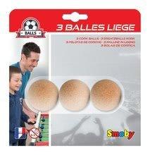 Stolný futbal - Korkové loptičky Smoby 3 ks priemer 35 mm_0