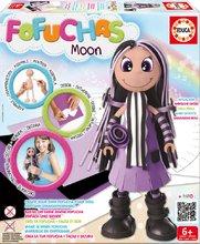 Păpuşă braziliană Fofuchas Moon Modern Educa Îmbracă-o singură de la 6 ani