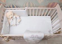 Napenjalna rjuha za posteljo Classic toTs-smarTrike ptički 2 kosa 100% jersey bombaž siva
