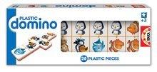 Igra domine Plastic Educa 28 kom z živalicami