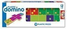 Domino pre najmenších Plastic Educa 28 ks s bodkami