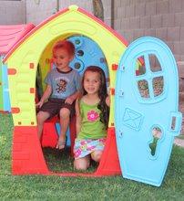 Domčeky pre deti - Domček Fairies Dream House PalPlay červeno-modrý od 24 mes_0