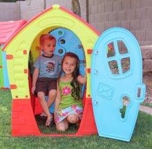 Domčeky pre deti - Domček Fairies Dream House PalPlay červeno-modrý od 24 mes_1