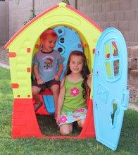 Domčeky pre deti - Domček Fairies Dream House PalPlay červeno-modrý od 24 mes_2