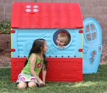 Domčeky pre deti - Domček Fairies Dream House PalPlay červeno-modrý od 24 mes_5