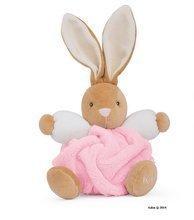 Iepuraş de pluş Plume-Light Pink Rabbit Kaloo 18 cm în ambalaj de cadou pentru cei mai mici roz