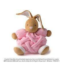 Plišasti zajček Plume-Pink Rabbit Kaloo 25 cm v darilni embalaži za najmlajše rožnat