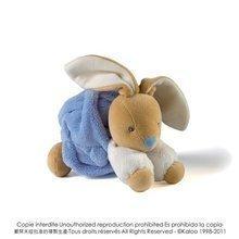 Iepuraş de pluş Plume-Indigo Rabbit Kaloo 18 cm în ambalaj de cadou pentru cei mai mici albastru