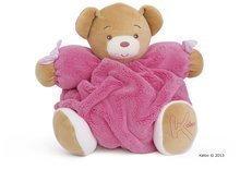 Plišasti medvedek Plume-Raspberry Bear Kaloo 25 cm v darilni embalaži za najmlajše rožnat