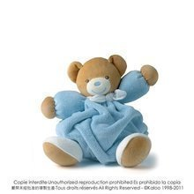 Ursuleţ de pluş Plume-Blue Bear Kaloo 25 cm în cutie de cadou pentru cei mai mici albastru