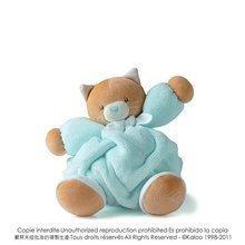 Kaloo plyšová mačka Plume-Aqua Cat 969465 tyrkysová