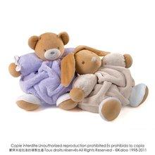 Plyšové medvede - Plyšový medvedík Plume-Lilac Bear Kaloo 25 cm v darčekovom balení pre najmenších fialový_1