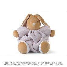 Plišasti zajček Plume-Natural Rabbit Kaloo 25 cm v darilni embalaži za najmlajše rjav