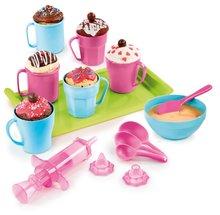 Hravá kuchárka pre deti Chef Smoby Cup Cake v hrnčekoch s receptami a formami na pečenie od 5 rokov