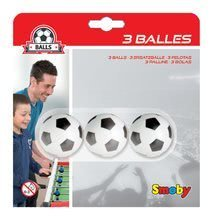 Stolný futbal - Futbalové loptičky Smoby 3 kusy_1