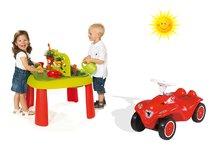 Set dětský stůl Zahradník De Jardinage 2v1 Smoby s plotem a odrážedlo New Bobby od 2 let
