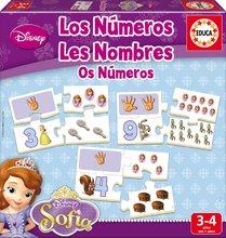 Náučná hra pre najmenších Učíme sa čísla a počítať Sofia Educa 40 dielikov od 3-4 rokov