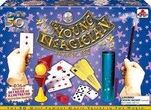 Cudzojazyčné spoločenské hry - Sada 50 kúzelníckych hier a trikov Magia Borras Educa v angličtine od 7 rokov_2