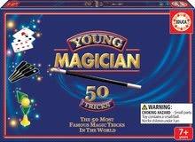 Sada 50 kúzelníckych hier a trikov Magia Borras Educa v angličtine od 7 rokov