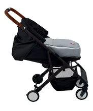 Kočíky - Športový kočík CityLink® III Red Castle skladací s čiernou konštrukciou a 5-bodovým bezpečnostným pásom od 0 mesiacov_5
