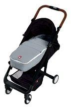 Kočíky - Športový kočík CityLink® III Red Castle skladací s čiernou konštrukciou a 5-bodovým bezpečnostným pásom od 0 mesiacov_6