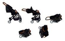 Kočíky - Športový kočík CityLink® III Red Castle skladací s čiernou konštrukciou a 5-bodovým bezpečnostným pásom od 0 mesiacov_12