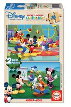 14181 b educa drevene puzzle mickey mouse