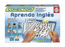 Joc de societate Conector Să învăţăm limba Engleză Educa 352 de întrebări de la 6-10 ani de la 6 ani