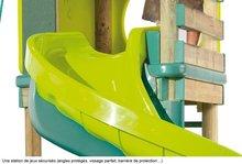 Centre de joacă - Loc de joacă din lemn Alpes Smoby cu Tobogan cu lungime de 320 cm_4