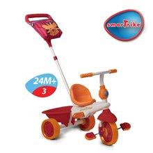 Trojkolky od 10 mesiacov - Trojkolka Safari Lev Touch Steering smarTrike červeno-oranžová od 10 mes_3
