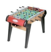SMOBY 145200 Futbal NR.1 futbalový stôl dreveny s 2 korkovymi loptičkami + 8 rokov, 130*85*84 cm