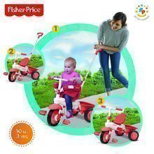 Tricikel Fisher-Price Classic Red smarTrike rdeč od 10 mes