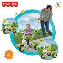 Tricikli Fisher-Price Classic Green smarTrike zöld 10 hó-tól
