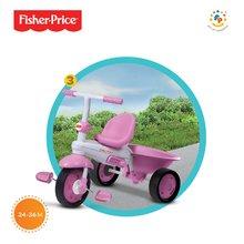 Trojkolky od 10 mesiacov - Trojkolka Elite Pink Fisher-Price ružová od 10 mes_2