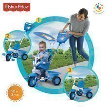 smarTrike 1463733 Fisher-Price tricikel Elite blue od 10 mes